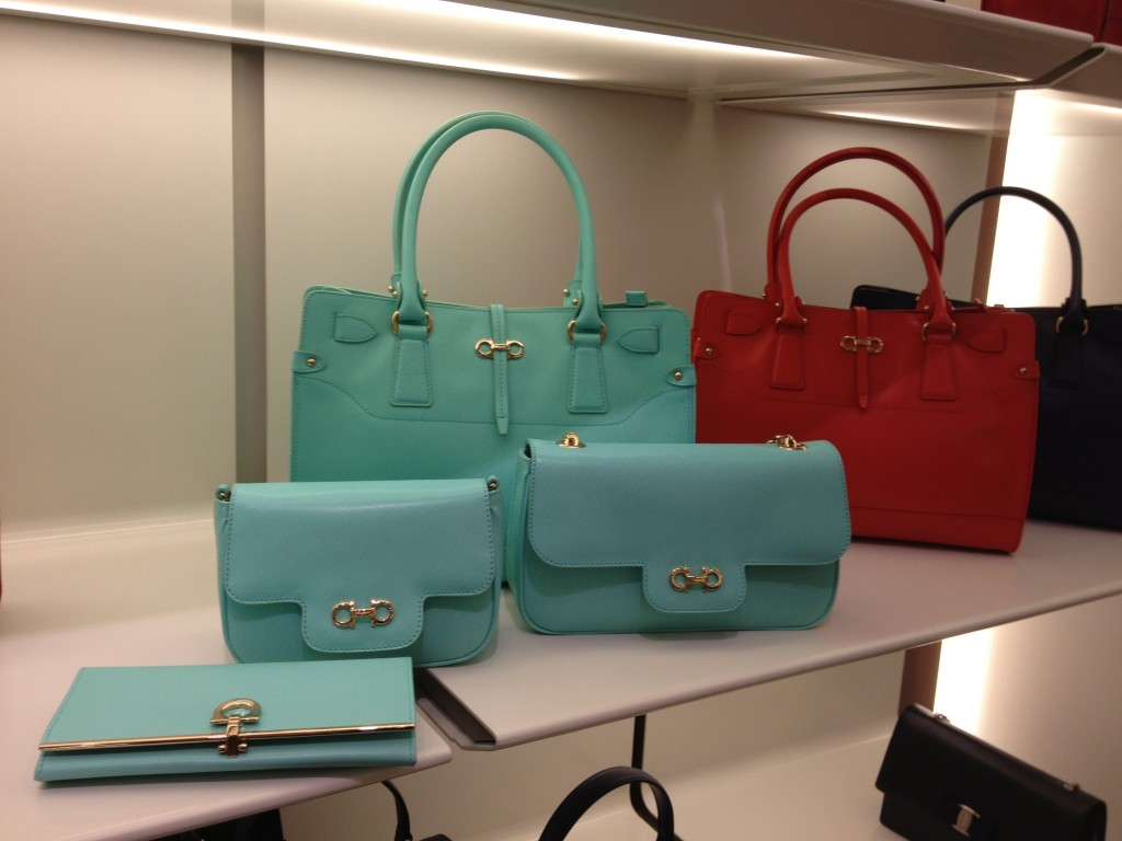151821229e2d Salvatore Ferragamo Handbags in Turquoise - Shirley Style